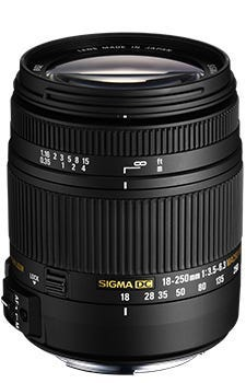 18-250mm f3.5-6.3 dc os marcro hsm