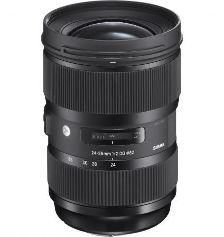 New 24-35mm F2 DG HSM Art lens offers prime performance with zoom versatility covering three popular focal lengths